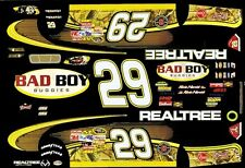 #29 Kevin Harvick Bad Boy Buggies MC 2011 1/32nd Scale Slot Car Decals