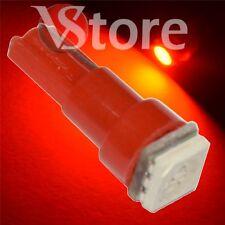 2 LED T5 SMD Rojo Lámparas Ubicación Luces Para Faros Angel Eyes Cuadrado