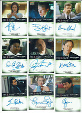 X-Files UFOs & Aliens Paranormal Script Autograph Card Selection Upper Deck 2019