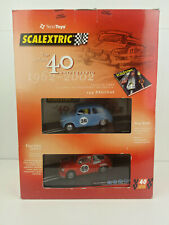 Slot car Scalextric 6904 Pack 40 Aniversario 1962/2002 Incluye Libro+2 coches