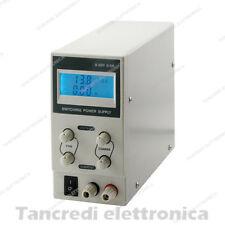 Alimentatore da Laboratorio DC Regolabile Stabilizzato 30V 3A Bench Power Supply