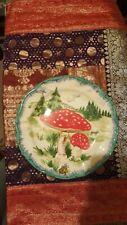 Anthropologie Nathalie Lete Mushrooms Champignon 10� Dinner Plate
