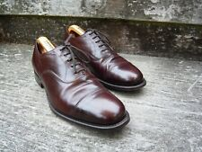 CHURCH OXFORD – BROWN / OXBLOOD / BURGUNDY – BALMORAL – UK 9 – EXCELLENT COND