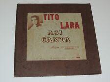 TITO LARA ASI CANTA Lp RECORD MILGON LATIN PUERTO RICO *SUPER RARE!