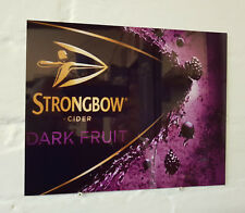 Strongbow dark fruit Retro METAL SIGN 2 Sizes Available ideal for pub Man Cave