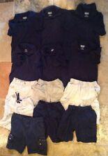Lot Of 13 Boys Size 6/7 7 Calvin Klein Wrangler Cherokee Faded Glory uniform lot