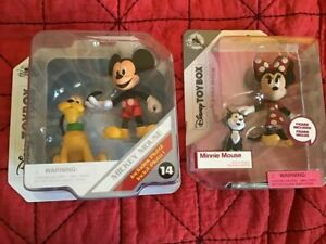 Disney Store bundle  TOY BOX~ MICKEY and MINNIE ~ Toy Collectible Figures