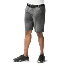 NWT Mens Oakley Stanley 10.5 Casual Golf Shorts Black & Gray Checker Size 30