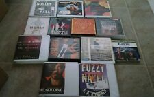 Unabridged Audio book lot on CD self help comedy novel action mystery series lot