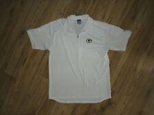Reebok NFL Packers White Zipper Activewear Polo Short Sleeve Size Medium