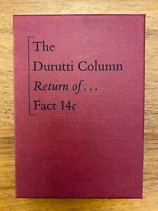 Durutti Column - Return Of... Fact 14c boxed casette Factory