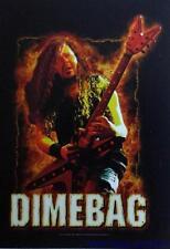 "DIMEBAG DARREL  Rock flag/ Tapestry/ Fabric Poster  Pantera    ""Fire""    NEW"