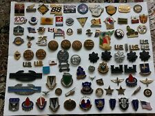 Military and Other Pins 100