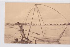 K 813 - China, chinesischer Fischer, ungelaufen