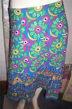 Cotton Geometric Skirts for Women