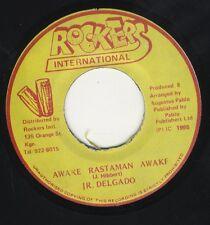 "Junior Delgado - Awake Rastaman Awake JA 7"" Rockers NEAR MINT ROOTS DUB PABLO"
