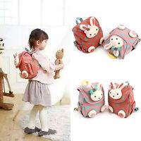 Hot Baby Toddler Cartoon 3D Rabbit Rucksack Backpack Preschool Small School Bag