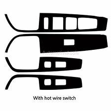 Real Carbon Window Switch Decal Sticker For Hyundai Sonata LF