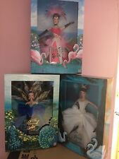 Collector Edition, 3 LOTTO DI BIRD di bellezze Barbie