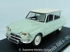 1962 CITROEN AMI 6 CAR MODEL 1/43RD SCALE GREEN/WHITE COLOUR EXAMPLE T3412Z(=)