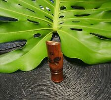 SOLID BRAZILIAN JATOBA WOOD SAMBA/BIRD CALL WHISTLE #12