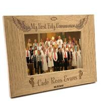 Boys First Holy Communion Personalised Photo Frame Gift FW209