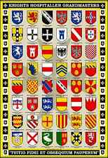 Grand Masters of the Knights Hospitaller 13x19 Poster