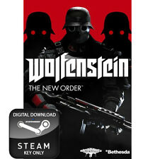 WOLFENSTEIN THE NEW ORDER PC STEAM KEY