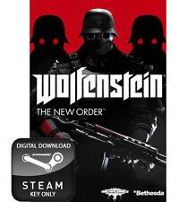 WOLFENSTEIN THE NEW ORDER PC STEAM KEY