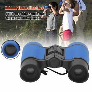 Kids Binoculars Toy 4x30 Adjustable Lightweight Gift for Bird Watching Outdoors