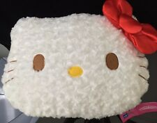 Hello Kitty Plush Pillow Doll - TEXTURED - Japan IMPORT - NWT