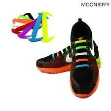 No tie Shoelaces Unisex Elastic Silicone Shoe Laces For All Sneakers Fit Strap