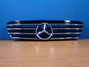 BRAND NEW MERCEDES BENZ FRONT GRILLE 23-9539 BLACK SG-2W220B-2 W220/S220 CL TYPE