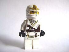 Lego Zane ZX Ninjago weißer Ninja Minifigur 9440 9445 9449 9554-keine Armor