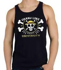 Camiseta Hombre Tirantes Grand line Pirate University One piece