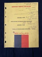 New Holland Service Parts Catalog 450, 455 Mounted Pitmanless Mower *1182