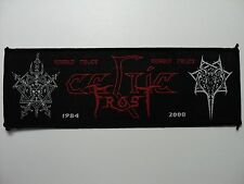 CELTIC FROST  STRIP   WOVEN  PATCH