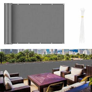 Balkonsichtschutz Balkonbespannung HDPE Hochwertig Balkon Sichtschutz Terrasse