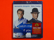 CATCH ME IF YOU CAN Blu-ray **Brand New & Sealed**