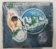 Yu Yu Hakusho Ghost Files TCG Base Set 1st Edition Sealed Booster Box 24 Packs