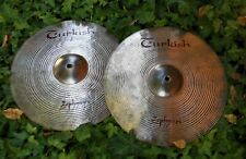"TURKISH CYMBALS  ""Zephyros""  Hi-Hats 14"""