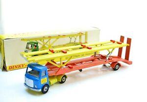 DINKY 974 AEC HOYNER CAR TRANSPORTER