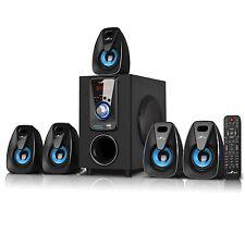 5.1 CHANNEL BeFree SOUND BFS-400 SURROUND SOUND BLUETOOTH SPEAKER SYSTEM - BLUE