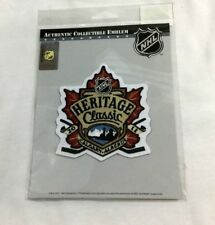 Heritage Classics 2011 Montreal Canadiens Calgary Flames Jersey Patch FREESHIP