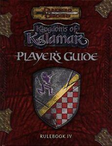 KINGDOMS OF KALAMAR PLAYER'S GUIDE VF! D&D Dungeons Dragons Rulebook IV Handbook