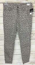 Gap Premium Leopard Print Super Skinny Jeans Size 8/29R NWT