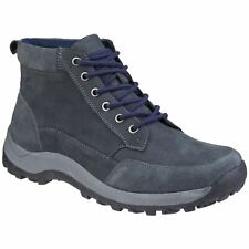 Cotswold Slad Navy Mens Boots Nubuck Leather