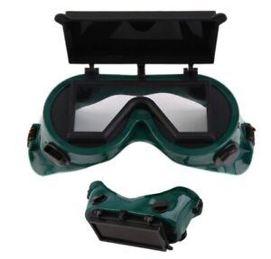 Occhiali Di Protezione Protettivi Per Saldare Saldatura Doppia Lente Fabbro