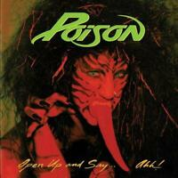 Poison - Open Up and Say...Ahh! [Gold Vinyl] NEW Sealed Vinyl LP Album