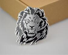 3D personality lion auto logo car sticker metal badge emblem tail decal QQ